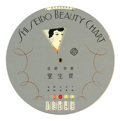 Shiseido Beauty Chart, 1936