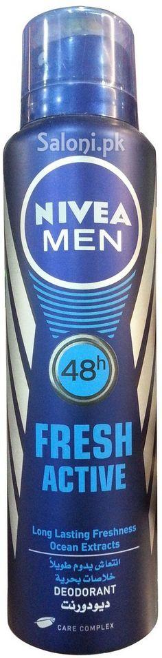 NIVEA MEN 48H FRESH ACTIVE DEODORANT 150 ML Saloni™ Health