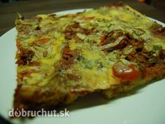 Fotorecept: Úžasná pizza zo starého chleba