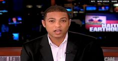 """Don Lemon, 2011.  The CNN news anchor came out to the New York Times in May 2011. Lemon told the paper, """"It's quite different for an African-American male... It's about the worst thing you can be in black culture. You're taught you have to be a man; you have to be masculine. In the black community they think you can pray the gay away.""""    #Don Lemon #CNN #LGBT #gaypride"""