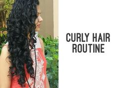 Here is a step-by-step process on how to wash and condition curly hair. 1. Cleansing 2. Conditioning