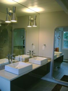 Bathroom Lighting Mid Century Modern mid century modern bathroom remodels | around the house
