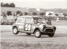 Image result for classic mini cooper racing