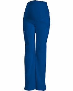 WorkWear by Cherokee 4208 Women's Maternity Knit Waist Pull-On Pant Caribbean Blue XX-Large Maternity Scrubs, Maternity Pants, Maternity Nursing, Medical Scrubs, Nursing Scrubs, Cherokee Woman, Lab Coats, Scrub Pants, Pull On Pants