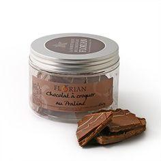 Confiserie Florian - Plaques de chocolat à croquer 6 Chocolat Lait Praliné - confiserieflorian.com
