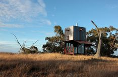 Permanent Camping Structure by Casey Brown Architecture (Video)..I loved it gives me a mood of shelter