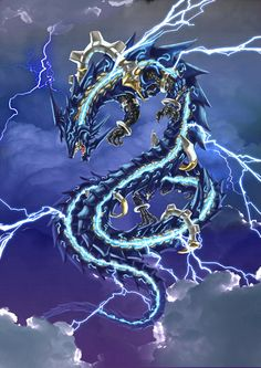 Lighting Bolt Dragon...
