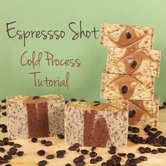 Espresso Shot Cold Process Tutorial | Soap Queen