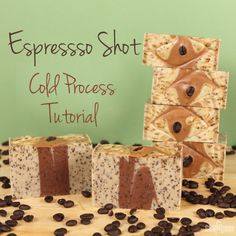 Espresso Shot Cold Process Tutorial | Soap Queen