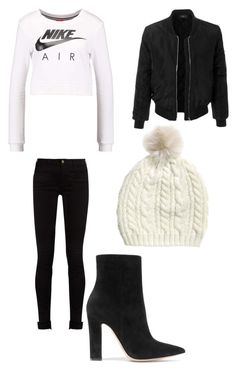 """""""Untitled #11"""" by jmkz72302 ❤ liked on Polyvore featuring NIKE, Gucci, Gianvito Rossi and LE3NO"""