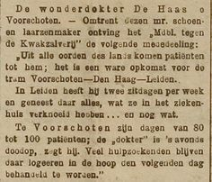 #VVDW 20 Wonder dokter of kwakzalver het haasje?