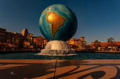 The entrance to DisneySea Entrance, Tokyo, Clouds, Celestial, Holiday, Travel, Outdoor, Appetizer, Outdoors