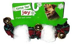 Petco Holiday Red Green Plaid & White Plush Jingle Bell Collar, Medium/Large IPSD http://www.amazon.com/dp/B015GG4CFQ/ref=cm_sw_r_pi_dp_7Jshwb0G7G6ZS