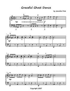 Free Halloween Sheet Music for Piano