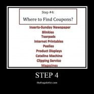 10 Step Couponing: Step 4: Where to Find Coupons courtesy of http://www.thefrugalette.com/2012/01/10-step-couponing-step-4-where-to-find-coupons/