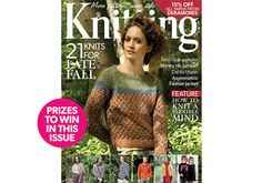 Cover of Kniting Magazine, November Issue