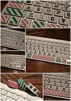 As It Seems: A Creative Keyboard - DIY makeover with Washi Tape! Genius!!