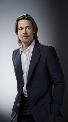 BRAD PITT 2011 Academy Award Nominee Actor in a Leading Role: MONEYBALL Photographed by Douglas Kirkland on February 6, 2012