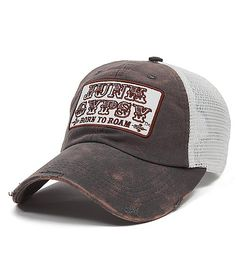 Junk Gypsy Trucker Hat sold at Buckle