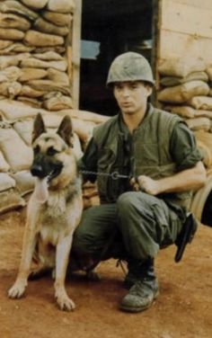 Marine dog handler Fred Dorr and his scout dog Sarge were leading a dozen other soldiers through a Vietnam jungle in 1969, when Sarge suddenly barked and sat down. Realizing Sarge was alerting him to danger, Dorr discovered that he was only … Continue reading →