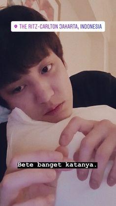 Chansoo, Chanbaek, Park Chanyeol, Exo, Seulgi Instagram, Boyfriend Kpop, Memes Funny Faces, Funny Times, Asian Celebrities