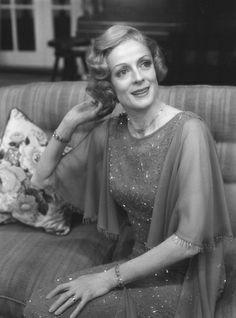 Hay Fever, 1977 Maggie Smith as Judith Bliss Director:  Robin Phillips Set Designer:  Lawrence Schafer Costume Designer:  Daphne Dare Photographer:  Robert C. Ragsdale
