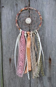 Car Dreamcatcher Small Dream Catcher Country by VagaBoundPeople, $12.50