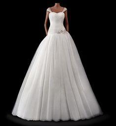 A-Linie Brautkleid Hochzeitskleid D2013025 von Brautkleider Hochzeitskleider Impooria  auf DaWanda.com