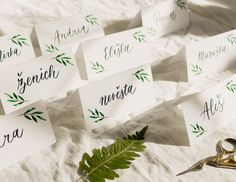 Place Cards, Place Card Holders, Lettering, Wedding, Mariage, Calligraphy, Weddings, Letters, Character