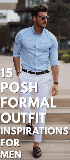 15 Posh Formal Outfit Inspirations For Men inspirationen herren 15 Sophisticated Formal Outfit Ideas For Men Formal Attire For Men, Formal Dresses For Men, Men Formal, Mens Formal Shirts, Formal Wear For Men, Mens Semi Formal Outfit, Mens Dress Outfits, Stylish Mens Outfits, Men Dress
