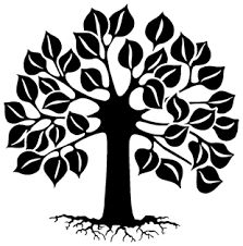 tree of life symbol black and white - Google Search