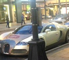 Vandal paints penis on £1.5million Bugatti Veyron... An amateur psychologist seems to have been at work as a vandal on the streets of Seattle, painting a COCKADOODLEDOO on a £1.5million supercar which some might say functioned as a substitute for the real, fleshy thing.
