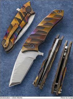 Photos - SharpByCoop's Gallery of Handmade Knives Cool Knives, Knives And Tools, Knives And Swords, Pretty Knives, Knife Art, Diy Knife, Best Pocket Knife, Pocket Knives, Damascus Knife