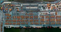 A Bird's Eye View - Incredible Aerial Images Of Planet Earth Rotterdam, In China, Port Of Singapore, Illusion, Lake Oroville, Puente Golden Gate, Black Rock Desert, What Image, Aerial Images