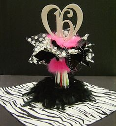 Sassy 16 Centerpiece  want it so bad for mt center piece for my table!;) misty cn u do this?
