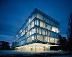 WTO-Erweiterungsbau von Wittfoht Architekten | Bürogebäude