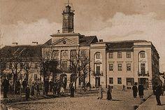 Płock - Fotogaleria miasta Płocka - XIX w. - 1939 r./Ratusz 1900r