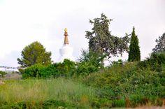La Plana Novella, Monasterio Budista ubicado en el Parc