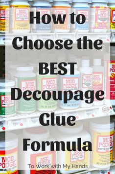 Decoupage glue: how to choose the best formula How to decouple stones with napkins Repurpose & Decoupage Tin Can Planter - Craft & DIY Projects OnlyHow to reuseDecoupage glue: How to choose the best Decoupage Tins, Decoupage Furniture, Diy Decoupage Glue, Decoupage Tutorial, Decoupage Ideas, Decoupage Glass, Dresser Furniture, Napkin Decoupage, Diy Mod Podge