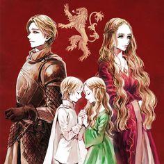 Lannister Twins by ~tyusiu on deviantART