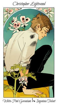 Christopher Lightwood (Nothing But Shadows by Cassandra Clare) ART BY: Cassandra Jean