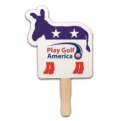 """7.625 x 8 Inch Customized Patriotic Hand Fans: Product Size: 7-5/8"""" W x 8"""" H. Imprint Area: 5.6""""W x 2.41""""H(Backside-1-5/8"""" x 4-5/8"""") Product Weight: 0.045 lbs. Carton Weight: 45 lbs. Packaging: 1000 pieces Made In: USA. #customhandfan #promotionalgifts #political #independencedayhandfans"""
