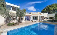 Rental: Unique Mediterranean property in Bonanova #mallorca #villa #realestate #Bonanova #property