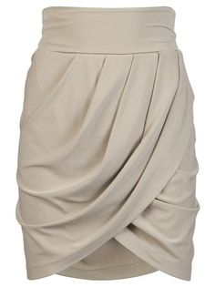 Draped skirt :)