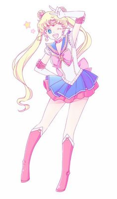 Sailor Moon || anime girl