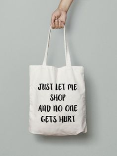Shopping Tote Bag Canvas Tote Bag Printed Tote by Mybebecadum
