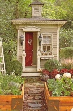 garden shed BHG