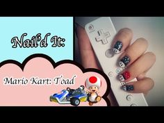 Mario Kart Inspired Nail Art Tutorial (Nail'd it!)