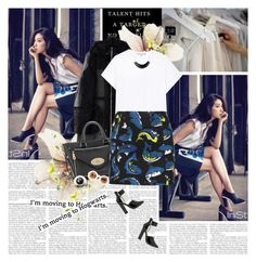 No 128:PARK SHIN HYE by lovepastel on Polyvore featuring mode, dVb Victoria Beckham, Maison Margiela, Kenzo, Mulberry, Kenneth Jay Lane, Wildfox and Shin Choi