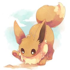 Echopaw(song)•(I know,it's eevee,but I love her,so I'm making her a cat in my fanfic. Deal with it)